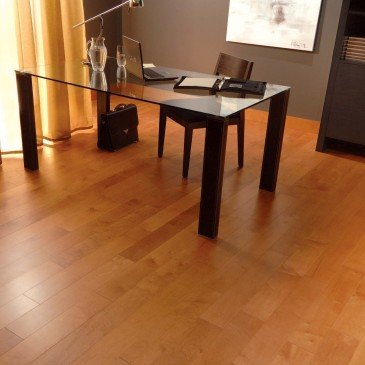 Orange Maple Hardwood flooring / Auburn Mirage Herringbone / Inspiration
