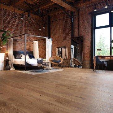 Beige White Oak Hardwood flooring / Jump rope Mirage Sweet Memories / Inspiration