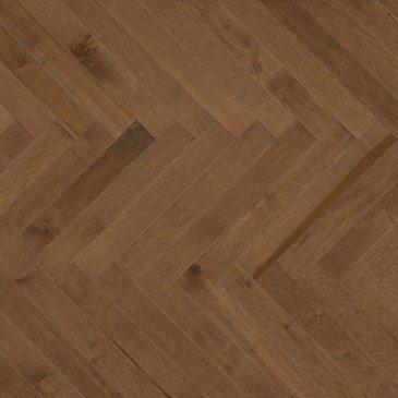 Planchers de bois franc Érable Brun / Mirage Herringbone Savanna