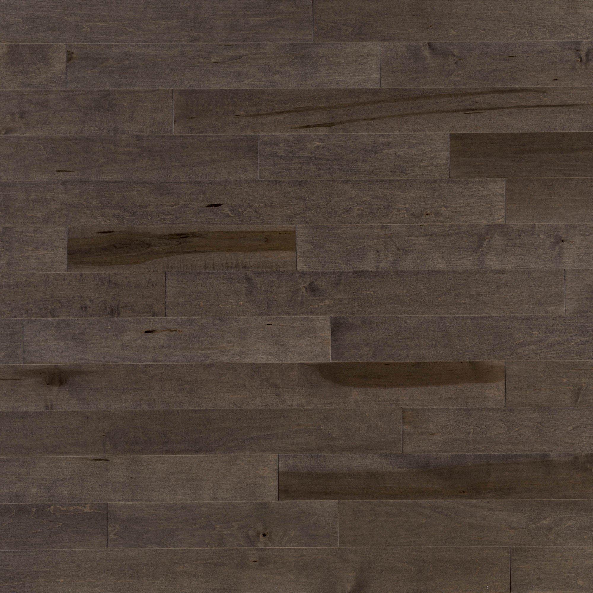 Érable Charcoal Exclusive Lisse - Image plancher