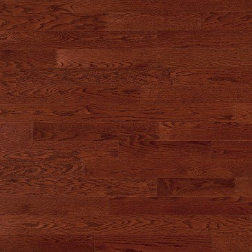 Reddish-brown Red Oak Hardwood flooring / Canyon Mirage Herringbone