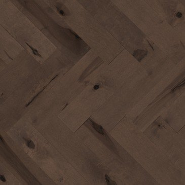 Planchers de bois franc Érable Brun / Mirage Herringbone Nightfall