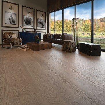 Beige Red Oak Hardwood flooring / Rio Mirage Herringbone / Inspiration