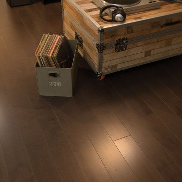 Brown Yellow Birch Hardwood flooring / Coffee Mirage Admiration / Inspiration