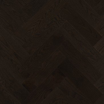 Brown Red Oak Hardwood flooring / Graphite Mirage Herringbone