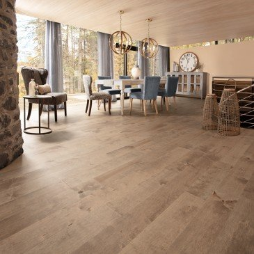 Grey Maple Hardwood flooring / Nougat Mirage Sweet Memories / Inspiration