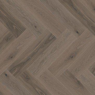 Grey White Oak Hardwood flooring / Roller Coaster Mirage Herringbone