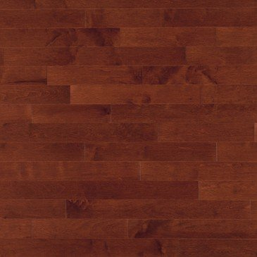 Reddish-brown Maple Hardwood flooring / Canyon Mirage Admiration