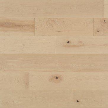 Planchers de bois franc Érable Naturel / Mirage Herringbone White Mist