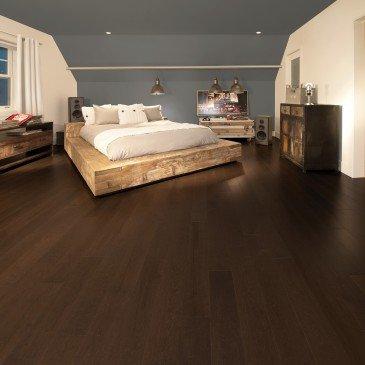 Brown Maple Hardwood flooring / Coffee Mirage Herringbone / Inspiration