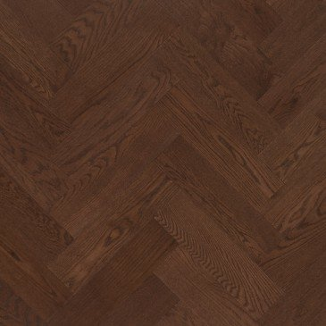 Brown Red Oak Hardwood flooring / Umbria Mirage Herringbone