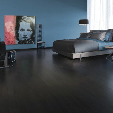 Brown Maple Hardwood flooring / Graphite Mirage Admiration / Inspiration