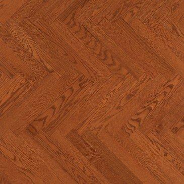 Planchers de bois franc Chêne Rouge Orangé / Mirage Herringbone Auburn