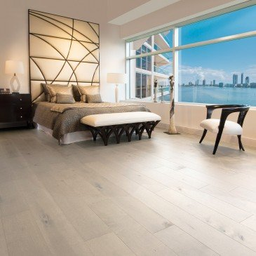 Beige Maple Hardwood flooring / Gelato Mirage Herringbone / Inspiration