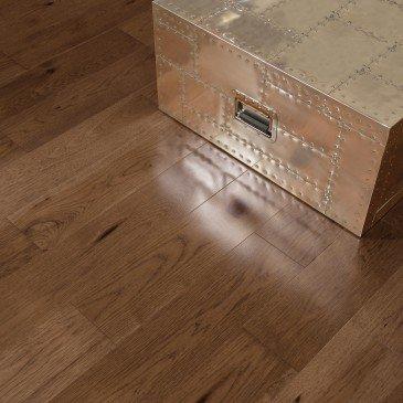 Planchers de bois franc Hickory Brun / Mirage Herringbone Umbria / Inspiration