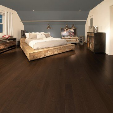 Brown Maple Hardwood flooring / Coffee Mirage Herringbone / Inspiration