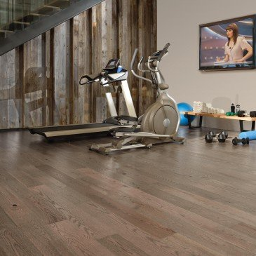 Grey Red Oak Hardwood flooring / Rock Cliff Mirage Imagine / Inspiration