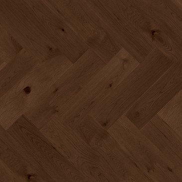 Brown Hickory Hardwood flooring / Havana Mirage Herringbone