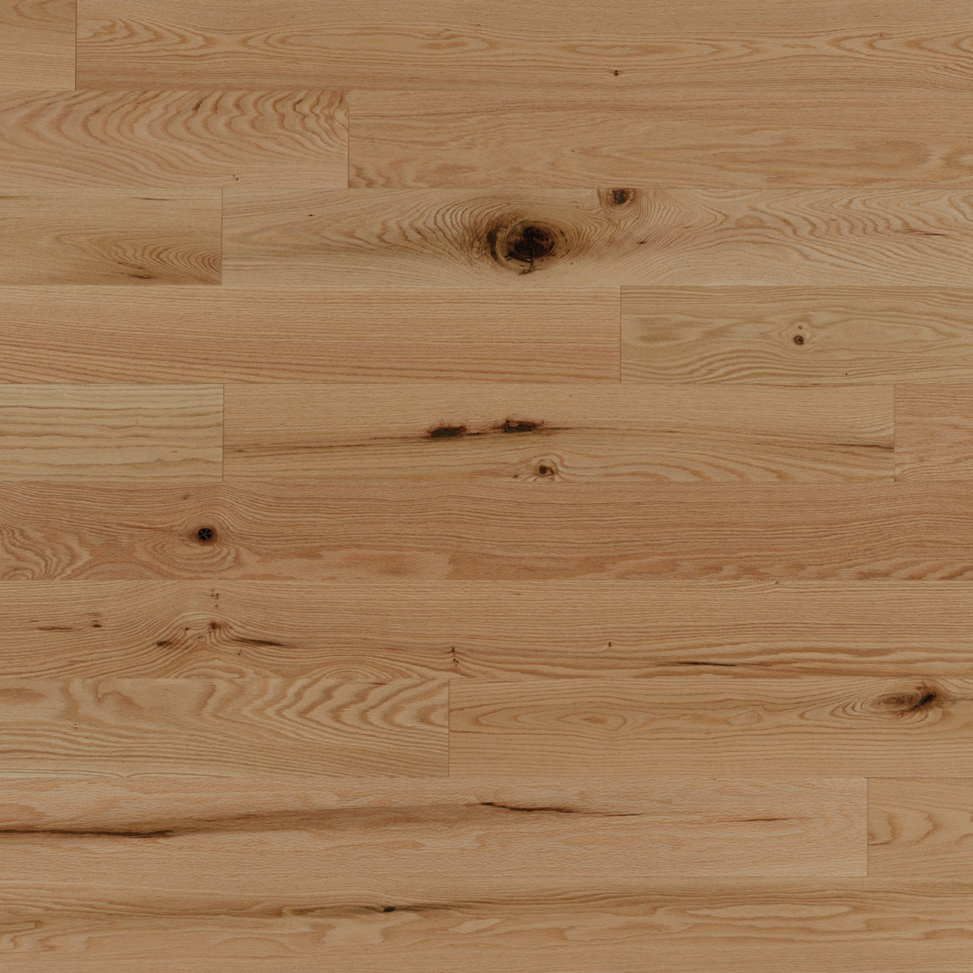 Chêne rouge Laguna Caractère Brossé - Image plancher