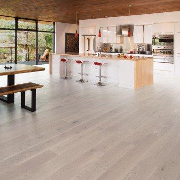 Planchers de bois franc Chêne Blanc Blanc / Mirage Flair Snowdrift / Inspiration