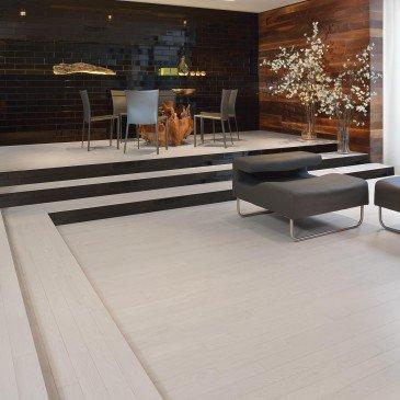 White Red Oak Hardwood flooring / Nordic Mirage Admiration / Inspiration
