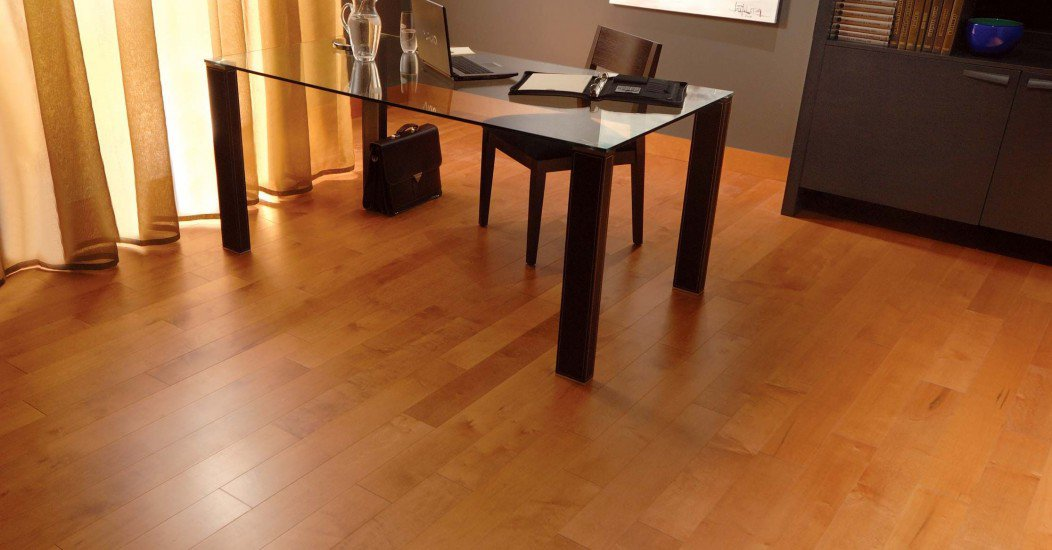 Herringbone Maple Auburn Mirage Hardwood Floors