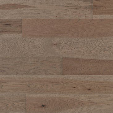 Brown Hickory Hardwood flooring / Greystone Mirage Herringbone