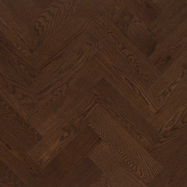 Brown Red Oak Hardwood flooring / Havana Mirage Herringbone