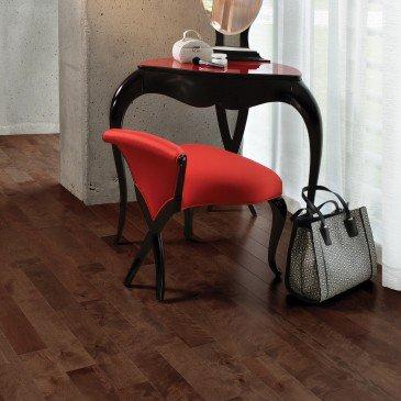 Brown Yellow Birch Hardwood flooring / Gingerbread Mirage Sweet Memories / Inspiration