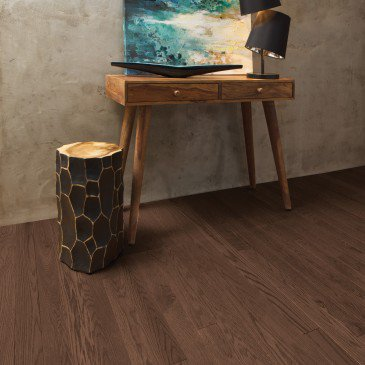 Brown Red Oak Hardwood flooring / Knowlton Mirage Alive / Inspiration