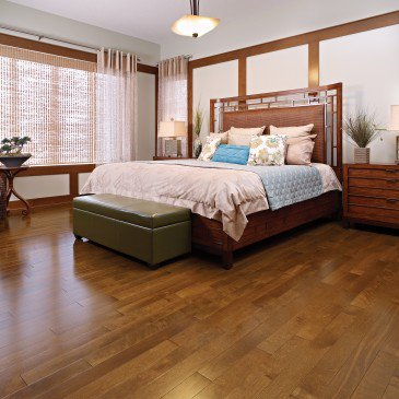 Brown Yellow Birch Hardwood flooring / Rich Oak Mirage Admiration / Inspiration