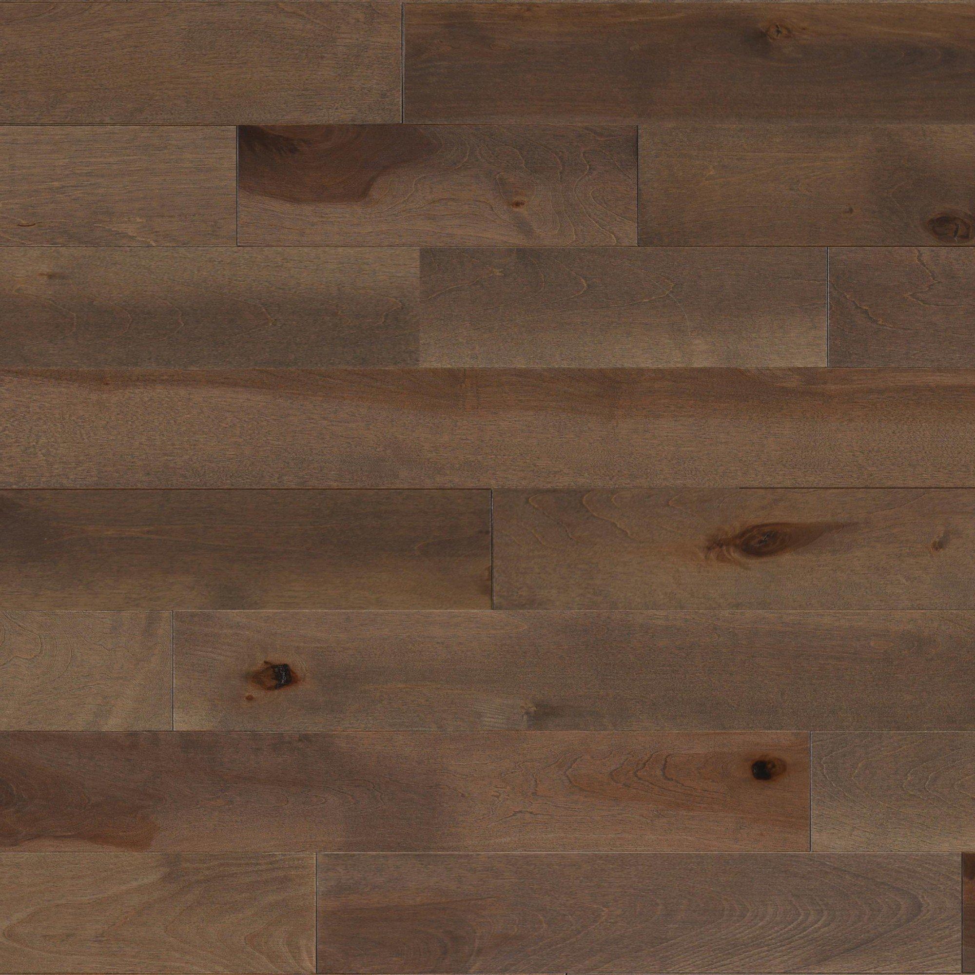 Merisier Pecan Pie Caractère Lisse - Image plancher