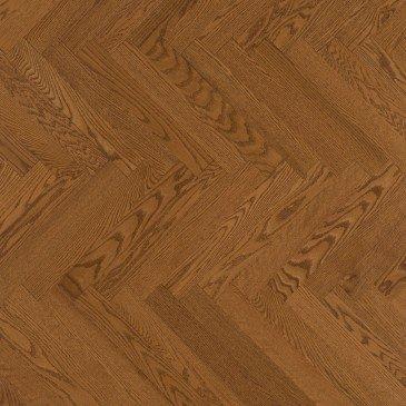 Golden Red Oak Hardwood flooring / Sierra Mirage Herringbone