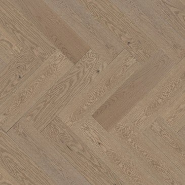 Beige Red Oak Hardwood flooring / Rio Mirage Herringbone