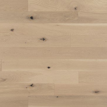 Natural White Oak Hardwood flooring / White Mist Mirage Flair
