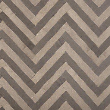 Grey Maple Hardwood flooring / Platinum Mirage Herringbone