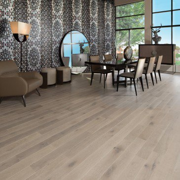 White Oak Exclusive Brushed Natural Mirage Floors
