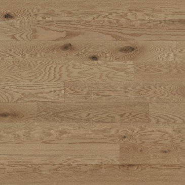 Chêne rouge Paddle Ball Caractère Brossé - Image plancher