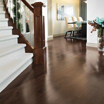 Brown Yellow Birch Hardwood flooring / Umbria Mirage Admiration / Inspiration