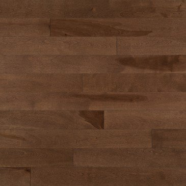 Brown Yellow Birch Hardwood flooring / North Hatley Mirage Admiration