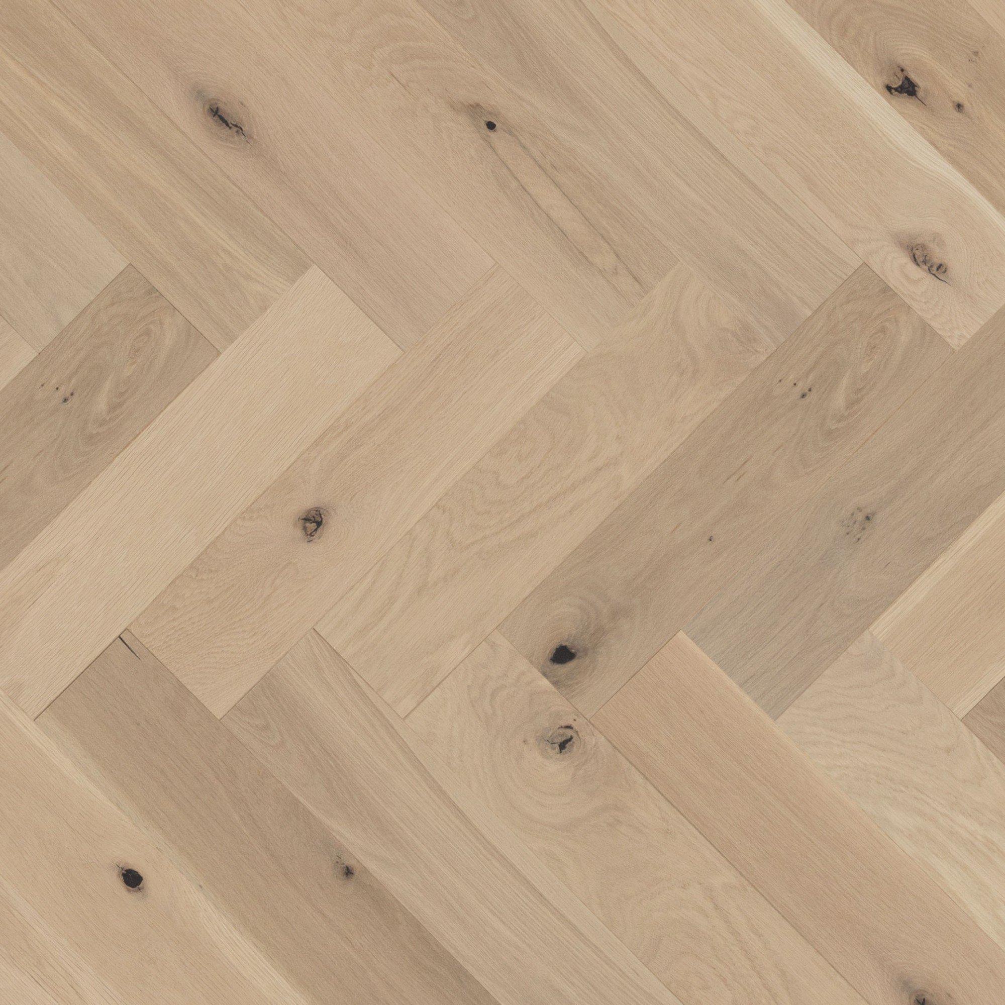 Chêne blanc White Mist Caractère Brossé - Image plancher