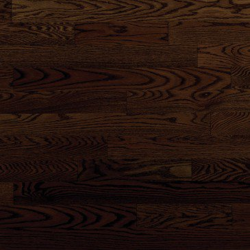 Brown Red Oak Hardwood flooring / Java Mirage Admiration