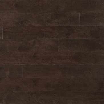 Grey Maple Hardwood flooring / Black Jelly Bean Mirage Sweet Memories