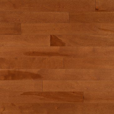 Orange Yellow Birch Hardwood flooring / Auburn Mirage Admiration