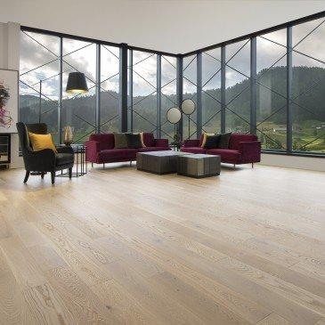 Natural White Oak Hardwood flooring / Natural Mirage Natural / Inspiration