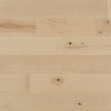 Natural Maple Hardwood flooring / White Mist Mirage Flair