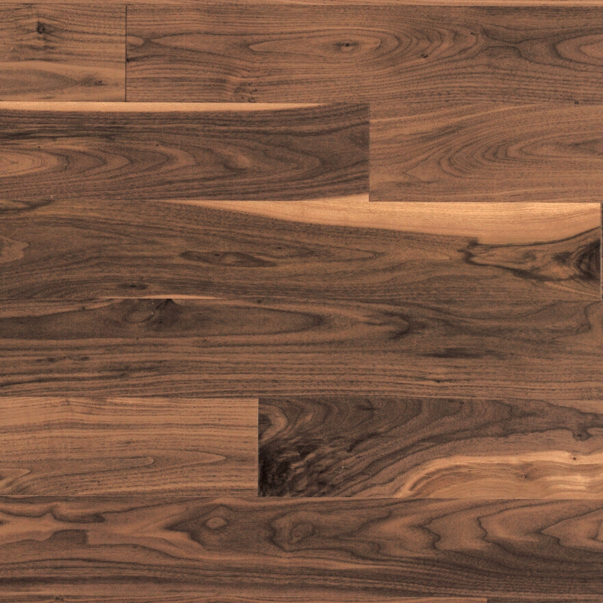 Natural Knotty Walnut Mirage Hardwood Floors
