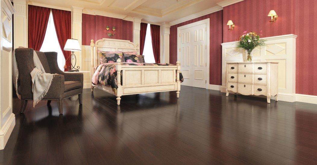 Exotic African Mahogany Onyx Mirage Hardwood Floors