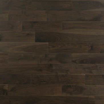 Brown Walnut Hardwood flooring / Charcoal Mirage Admiration