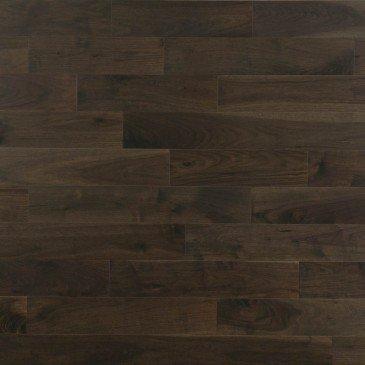 Noyer Charcoal Caractère Lisse - Image plancher